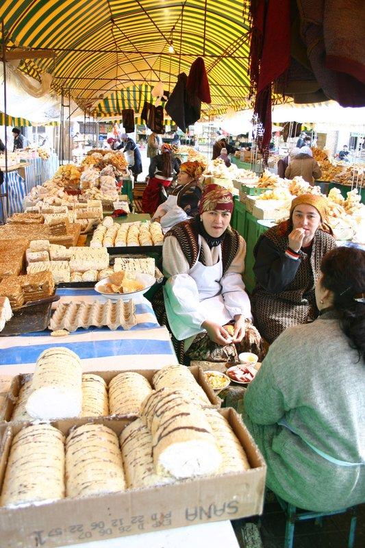 Cake Ladies at teh Old Bazaar