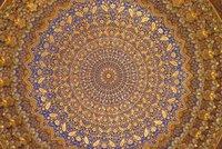 Ceiling of the Golden Mosque, The Registan