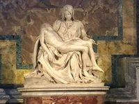 The Pieta - by Michelangelo