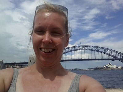 It had to be done - selfie in front of the bridge!
