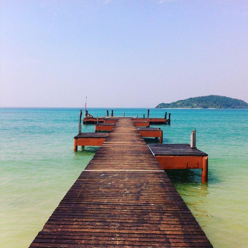 Ao Suan Yai pier, Koh Mak