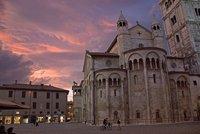 Sunset over Duomo, Modena