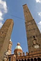 Twin Medieval Towers of Bologna
