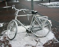 Chilled bicycle