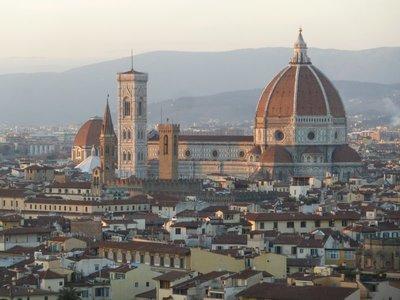 Duomo at sun set
