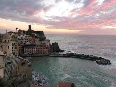 Sunset at Vernazza