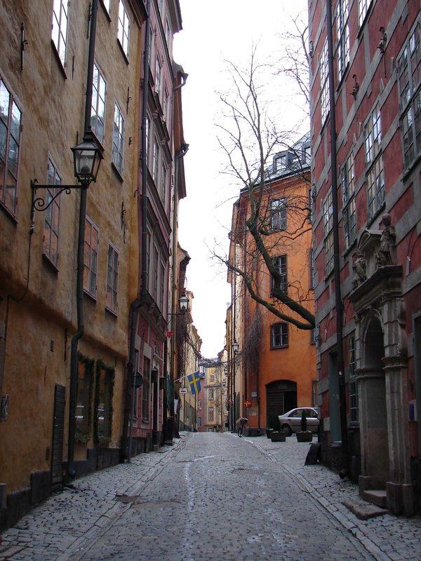 Gamla Stan Street (Old Town), Stockholm