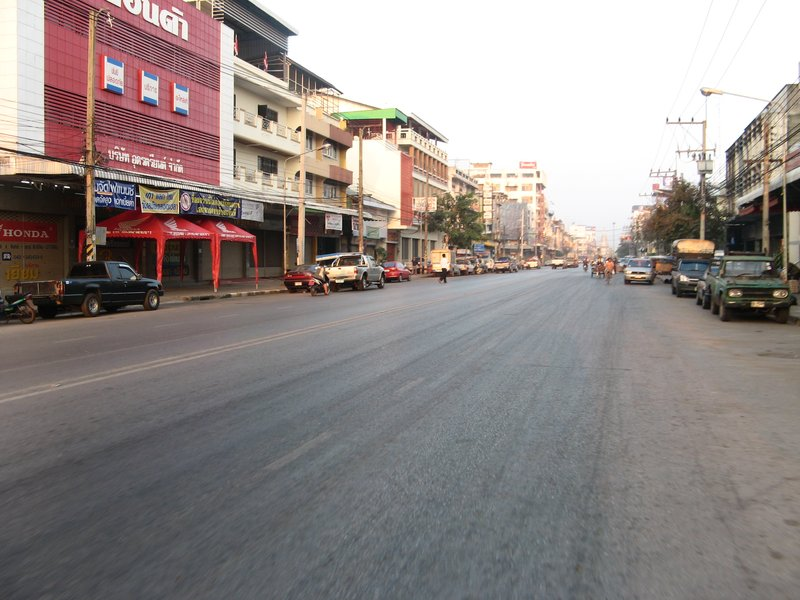 Udon Thani in the morning
