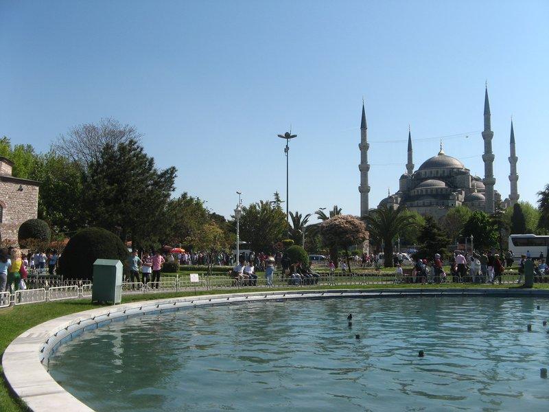 Sultanahmet park, Blue Mosque