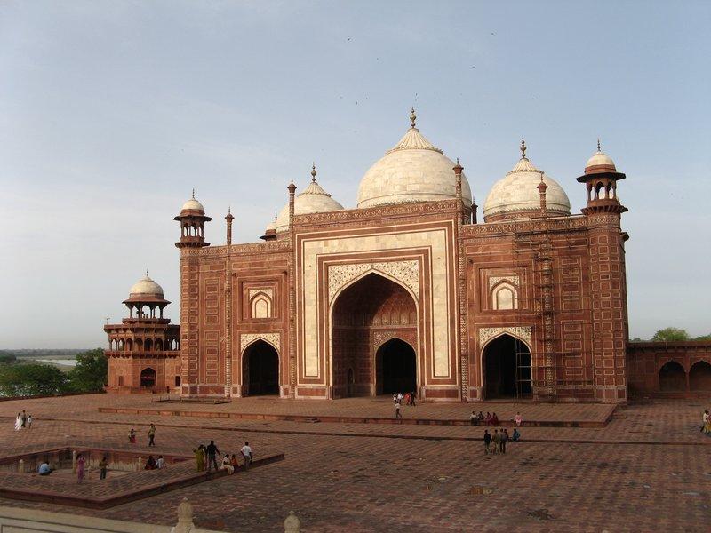 Sunset, Taj Mahal