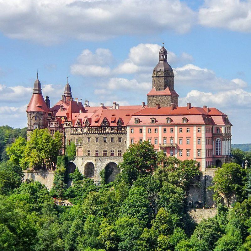 Castle Ksiaz, Poland