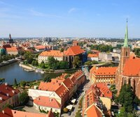 View from Cathedral of St. John the Baptist, Wroclaw, Poland