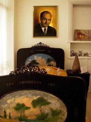 Dr Ali Shariati's bed