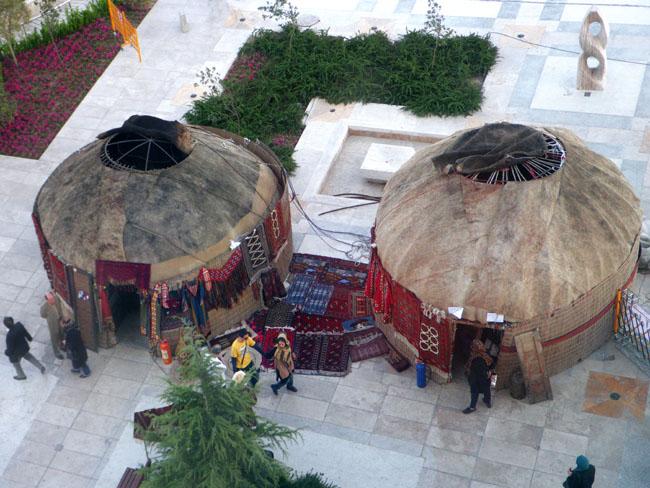 Turkman Yurts