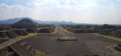 Teotihuacan - View From The Temple of the Moon (Wide)