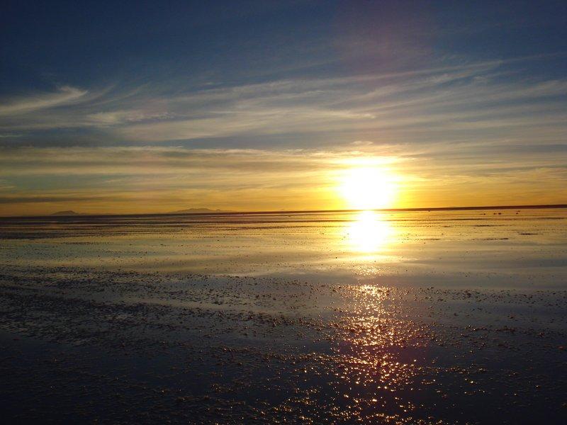 Salt Flats Sunrise 2