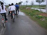 Riding home from School, Hoi An