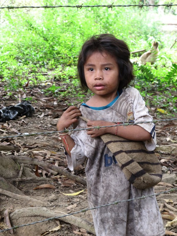 Meeting the Kogui children