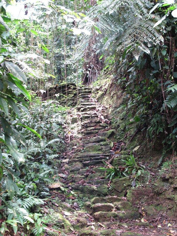 Stairway to destination