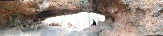 A rock hole