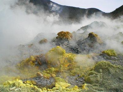 Papandayan Volcano Mountain
