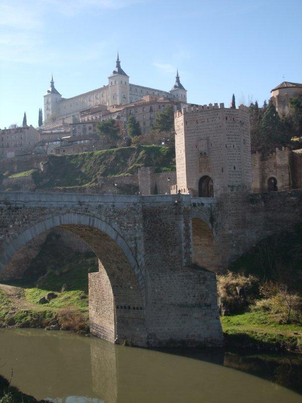 Toledo - Bridge and Alcazar