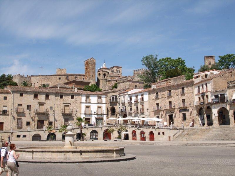 Plaza Major in Trujillo