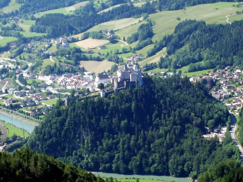 Werfen - view from Eisriesenwelt