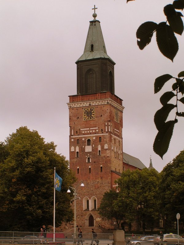 Finland, Turku Cathedral, the oldest in Finland