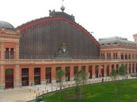 Madrid, Atocha trainstation