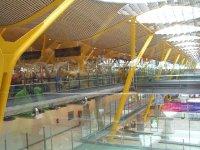 Terminal 4 at Madrid Airport
