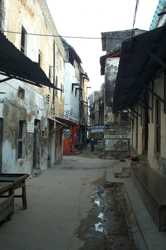 Streets in Lamu