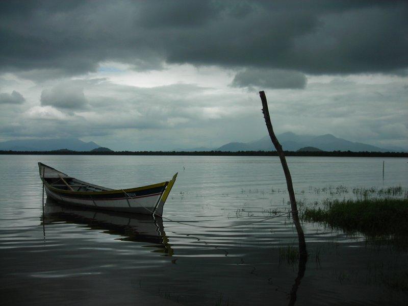 Boat at Guaraqueçaba