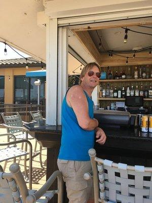Rum at a Tiki bar right?