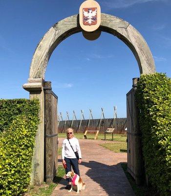 Fort Caroline Entrance