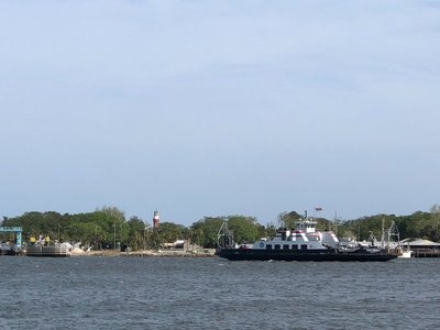 Mayport Ferry and Lighthouse