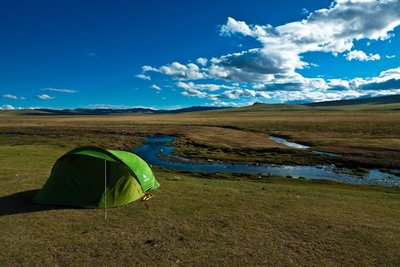 Perfect camp ground