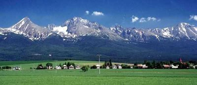 Mengusovce and the High Tatras