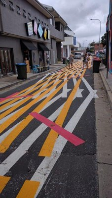 Even the streets are alternative