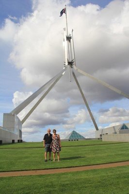 On top of Parliament House
