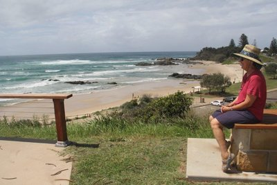 One of many view points in Port Macquarie