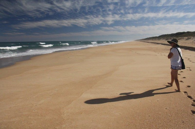 Alone on 90 mile beach