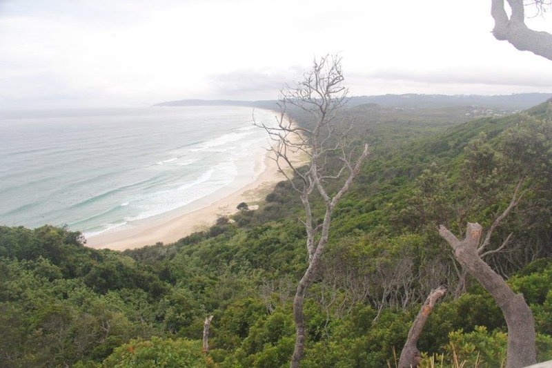 Byron Bay on the right