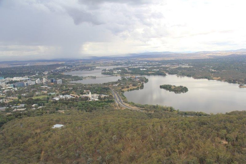 Canberra from the Telstra tower