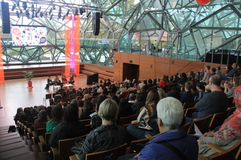 Huge interest in sustainability exhibit
