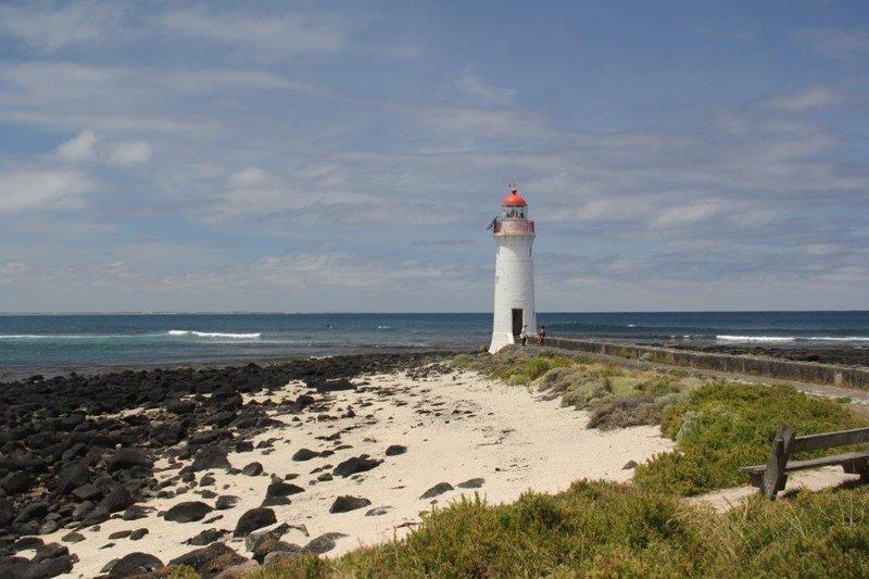 Lighthouse on Griffiths Island