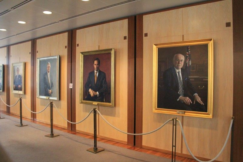 Painting of every Prime Minister