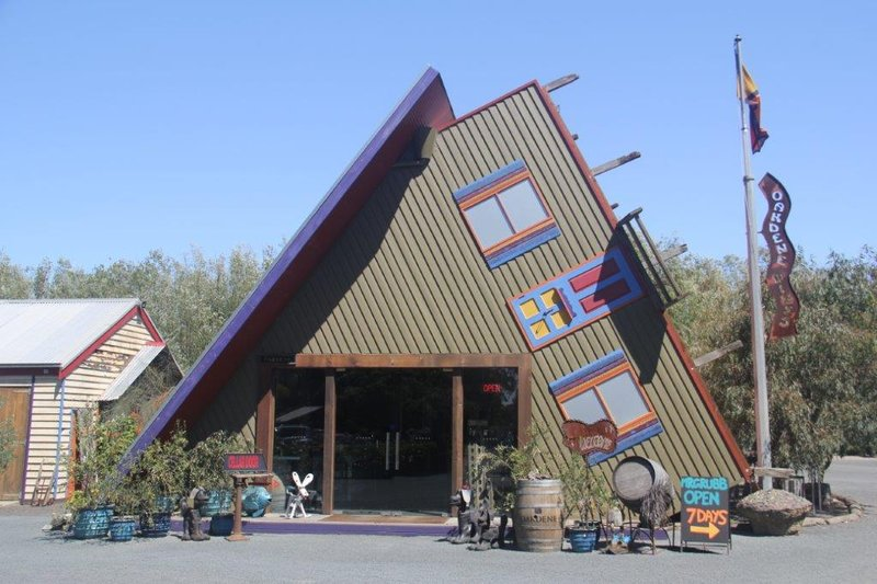 Quirky winery