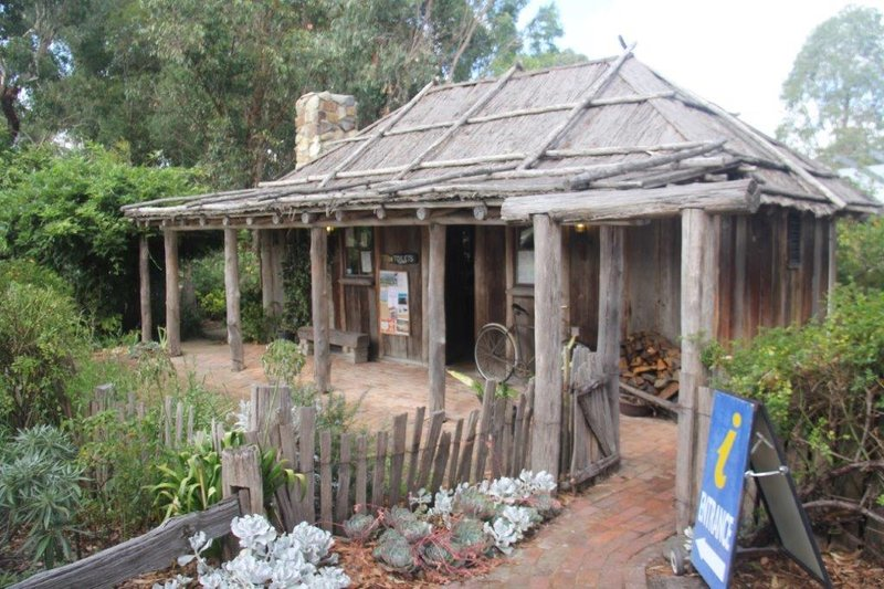 Visitor Information Centre in Orbost next to Snowy River
