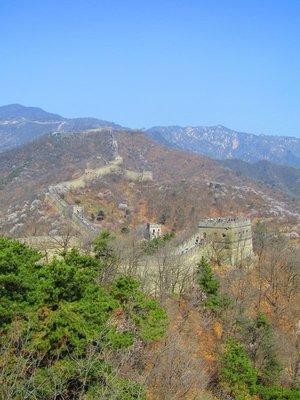 Beautiful Wall of China
